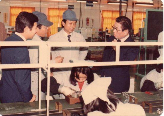 日本Sankyo長官巡視