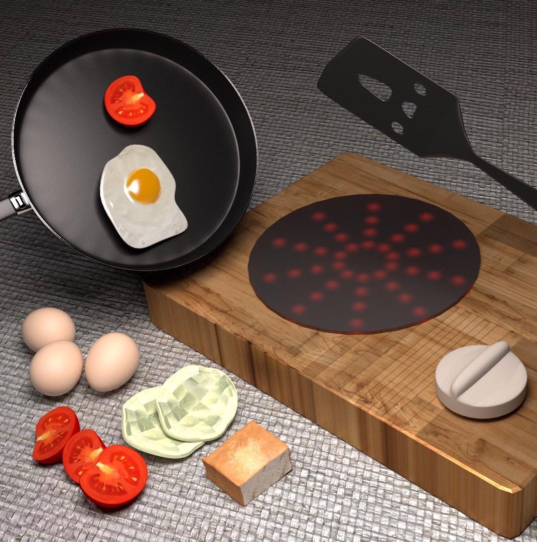 咕咕大廚玩具的3D圖