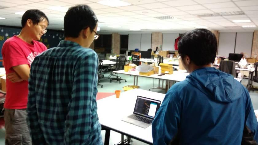 書鴻來新北創力坊討論工程與APP紀錄